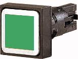 Кнопка , цвет зеленый, без фиксации (Q25D-GN) арт.86409