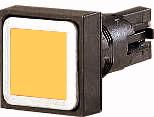 кнопка, желтая , без фиксации (Q18D-GE) арт.86417