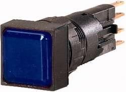 Световой индикатор , плоский , цвет синий (Q18LF-BL) арт.88270