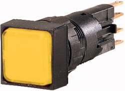 Световой индикатор , выступающий , желтый цвет, Лампа накаливания, 24 В (Q25LH-GE/WB) арт.90285