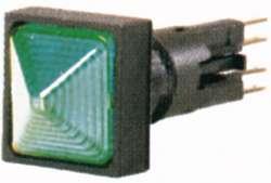 Световой индикатор , выступающий , цвет зеленый, Лампа накаливания, 24 В (Q25LH-GN/WB) арт.90312