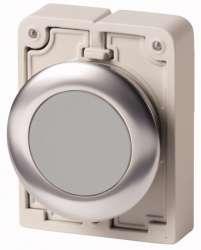 Кнопка плоская 30мм, серая арт.M30C-FD-GR