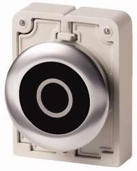 Кнопка плоская 30мм арт.M30C-FD-S-X0