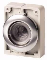 Кнопка плоская 30мм, без линзы, с подсветкой, с фиксацией арт.M30C-FDRL-X