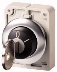 переключатель плоский 30мм, с ключем арт.M30C-FWRS-A1