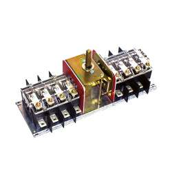Переключатель байпаса 1-0-2, FMUN BY1 50/4, 500A, 4-bieg., 300 mm2