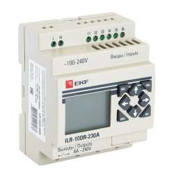 Программируемое реле 10 в/в с диспл. 230В PRO-Relay EKF PROxima
