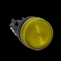 Лампа сигнальная ENS-22 желтая 24В EKF PROxima