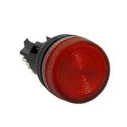 Лампа сигнальная ENS-22 красная 220В EKF PROxima