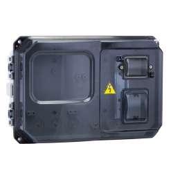 Щит учетно-распред. навесной пластик ЩУРн-П 1/5 (229х340х117) IP55 EKF PROxima
