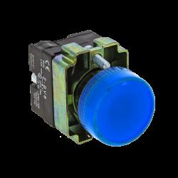 Лампа сигнальная BV66 синяя EKF 24В EKF PROxima