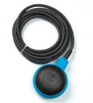 FINDER Поплавковый выключатель 2 водонепроницаемые камеры; для управления насосами технического водопровода; кабель ПВХ 5м; контакты 1СО 20А; степень защиты IP68(арт.72A100000500)