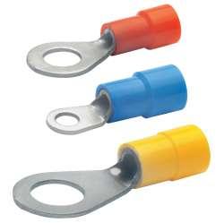 Кольцевой изолир. наконечник 0,5-1,0мм2 под винт М3,5 (красн.)