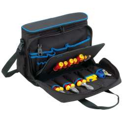 KL905B15 Проф. сумка для хранения и переноски ноутбука и инстр-в, наполнение: 11 инструментов VDE до 1000В, 2 стриппера, рулетка