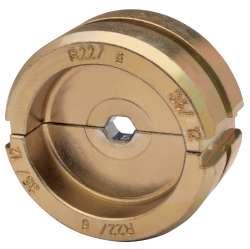 """Матрица серии """"22"""" для трубч. медных облегч. наконечников 6 мм2 (шестигранник)"""