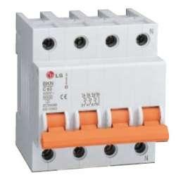 Автоматический выключатель BKN 3P+N B10A LS (арт.061401388B)