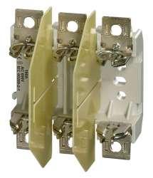 S3PB00 SS Основание предохранителя 3-полюсное исполнение, M8 - зажимные винты ввернуты