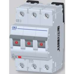 LPE-0,2C-3 Автоматический выключатель In 0,2 A, Ue 230/400 V a.c., 60/220 V d.c., характеристика C, 3-полюс, Icn 6 kA