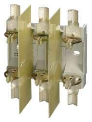 S3PB1 SS Основание предохранителя 3-полюсное исполнение, M10 - зажимные винты ввернуты
