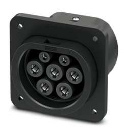 Phoenix contact 1408169 EV-GBM3S-1AC32A-0,7M6,0E00 Сетевая зарядная розетка