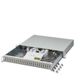 Phoenix contact 1418816 FOC-SB-FR19:1U-LCD24-OM2 GY Кабельная коробка