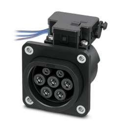 Phoenix contact 1627693 EV-T2M3SE12-3AC32A-0,7M6,0E14 Сетевая зарядная розетка