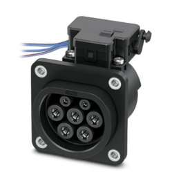 Phoenix contact 1627987 EV-T2M3SE24-3AC32A-0,7M6,0E14 Сетевая зарядная розетка
