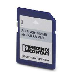 Phoenix contact 2701872 SD FLASH 512MB MODULAR MUX Мультиплексор