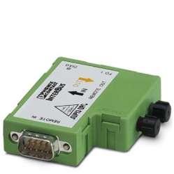 Phoenix contact 2740737 IBS OPTOSUB-MA/M/L-LK-OPC-2MBD Преобразователь оптоволоконного интерфейса