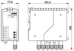 Phoenix contact 2800618 LM-S-A/C-3S-ETH Система измерения тока молний
