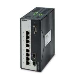Phoenix contact 2891162 FL SWITCH 4000T-8POE-2SFP-R Промышленный коммутатор
