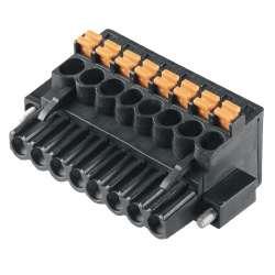 Weidmuller 1000320001 BLF 5.08HC/12/90F SN BK BX Исполнение: Штекерный соединитель печатной платы, Гнездовой разъем, 5.08 мм.кв Количество полюсов: 12, 90°, PUSH IN, Диапазон размеров зажимаемых проводников, измерительное соединение, макс.: 3.31 мм.кв, Ящ