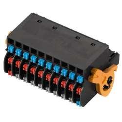 Weidmuller 1000550000 BL-I/O 3.50/30LR SN BK BX Исполнение: Штекерный соединитель печатной платы, Гнездовой разъем, 3.50 мм.кв Количество полюсов: 30, 180°, PUSH IN, Диапазон размеров зажимаемых проводников, измерительное соединение, макс.: 1.5 мм.кв, Ящи
