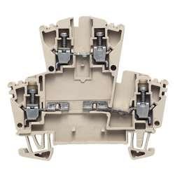 Weidmuller 1023100000 WDK 2.5/D/3 Исполнение: W-серия, Клемма с электронными компонентами, Расчетное сечение: 2.5 мм.кв, Винтовое соединение