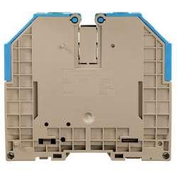 Weidmuller 1024580000 WDU 120/150 BL Исполнение: Проходная клемма, Винтовое соединение, 120 мм.кв, 1000 V, 269 A, синий