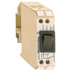 Weidmuller 104360000 EGT4 EG2/EN Исполнение: EG-серия, Функциональный модуль Перекл. контакт, положение выкл.— в середине, использование датчиков— на одной стороне, переключение— на одной стороне, Винтовое соединение