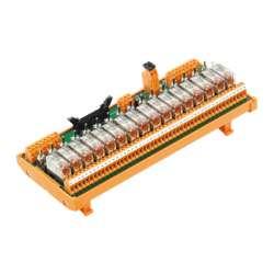 Weidmuller 1129120000 RSM-16 PLC SW 1CO S Исполнение: Интерфейс, RSM PLC, 16 with switch, RCL, Винтовое соединение