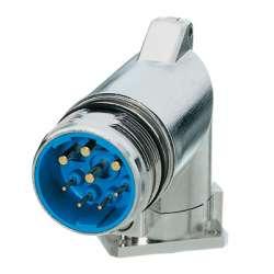 Weidmuller 1170330000 SAIE-M23-L-W Исполнение: Концентратор сигналов, соединительный разъем, Встраиваемый штекер, Пустой корпус