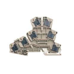 Weidmuller 1221340000 PMAK 4 Исполнение: P-серия, Соединительная клемма двигателя, Расчетное сечение: 4 мм.кв, PUSH IN, Непосредственный монтаж