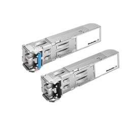 Weidmuller 1241500000 IE-SFP-1GLSXLC Исполнение: SFP-Modul, 0 °C...60 °C, Gigabit-Ethernet, Multimode, Соединительный разъем LC, 2 км