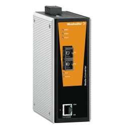 Weidmuller 1286880000 IE-MC-VLT-1TX-1SC Исполнение: Media-конвертор, Fast Ethernet, Количество портов: 1 x RJ45, 1 * SC, многомодовый, IP30, -40 °C...75 °C