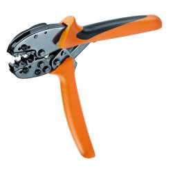 Weidmuller 1292880000 CTI 6 G ZERT Исполнение: Инструмент для обжима, Инструмент для разделки кабеля под изолированный кабельный наконечник, 0.5мм.кв, 6мм.кв, Овальный обжим, Параллельный обжим