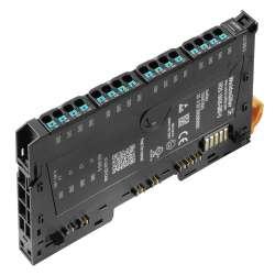 Weidmuller 1334810000 UR20-16AUX-GND-O Исполнение: Вынесенный модуль ввода-вывода, IP20