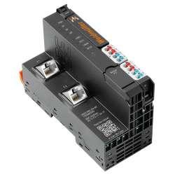 Weidmuller 1334880000 UR20-FBC-PN-IRT Исполнение: Вынесенный соединитель полевой шины ввода-вывода, IP20, Ethernet, PROFINET IRT