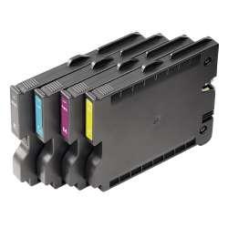 Weidmuller 1338720000 PJ ADV TNTK INK SET Исполнение: Оборудование для печати маркировки, Емкость с чернилами, желтый, черный, голубой, пурпурный