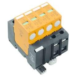 Weidmuller 1351020000 VPU II 4 R 600V/25kA Исполнение: Низкое напряжение, с контактом дистанционной сигнализации, TN-C-S, TN-S