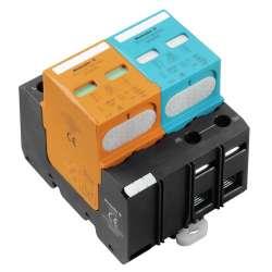 Weidmuller 1351750000 VPU I 1+1 LCF 280V/25KA Исполнение: Низкое напряжение, без контакта дистанционной сигнализации, Без тока утечки, TN-C-S, TN-S, TT, IT с N