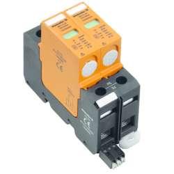 Weidmuller 1352440000 VPU II 2 R 75V/30kA Исполнение: Низкое напряжение, с контактом дистанционной сигнализации, TN-C, TN-S