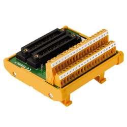 Weidmuller 1371340000 TBY-RS-UNIV-SP-2KS-S Исполнение: Интерфейс, RS, 2 x KS (40P), LP2N 5.08mm