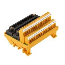 Weidmuller 1371530000 TBY-C3-16AI-2KS-S Исполнение: Интерфейс, RS, 2 x KS (40P), LP2N 5.08mm